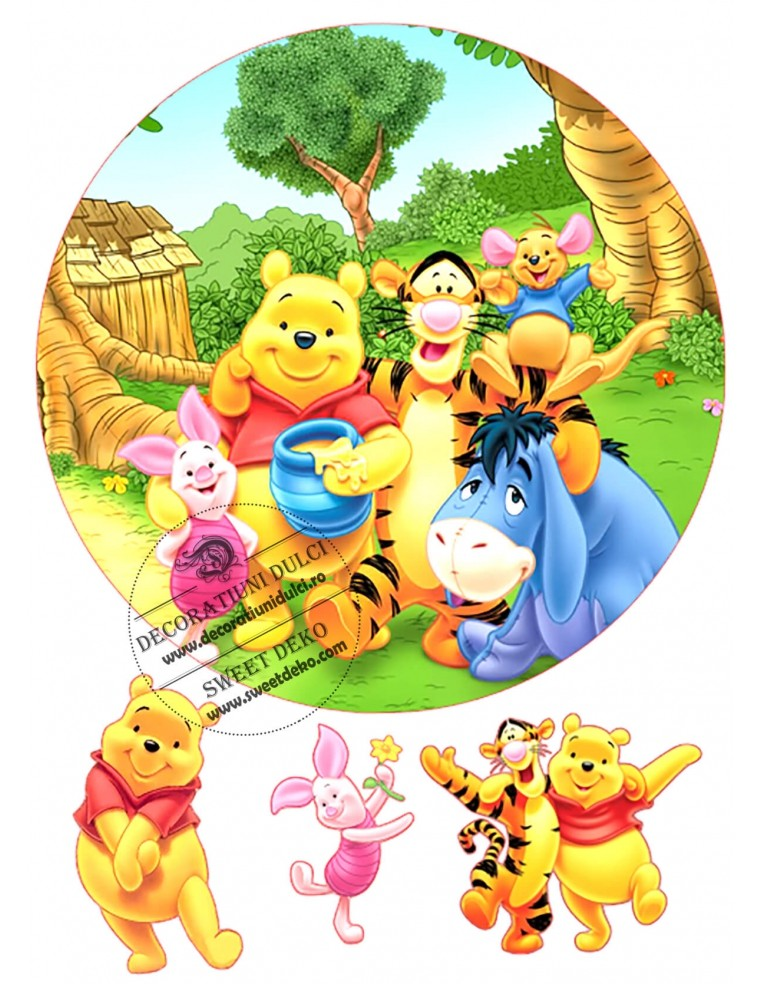 Winnie de Plus si prietenii