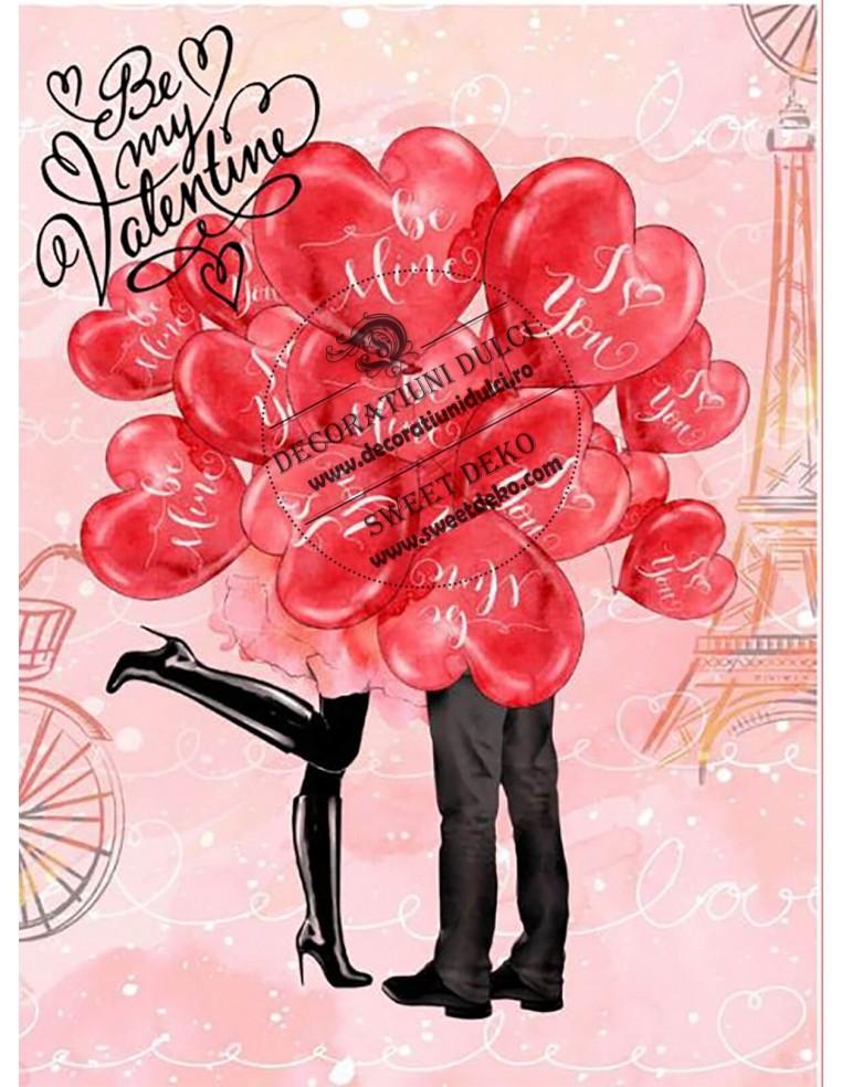 Imagine comestibila My Valentine ?