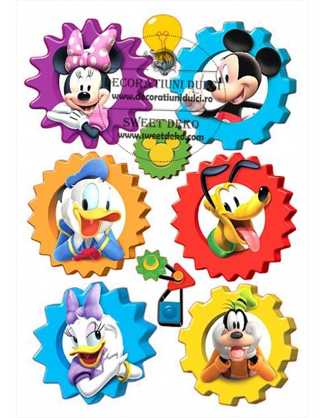 Imagine comestibila Mickey si prietenii