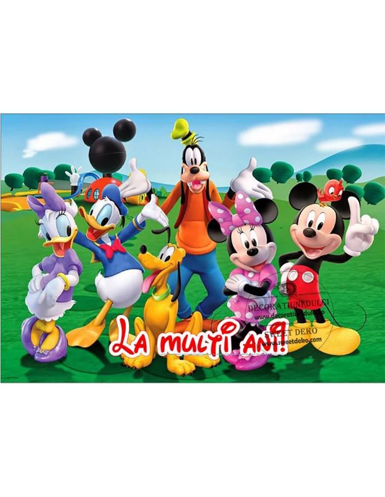 Imagine comestibila Mickey si...
