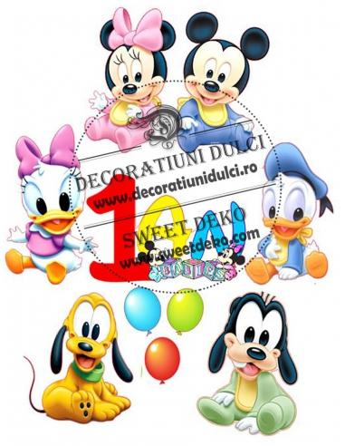Imagine comestibila Mickey si Minnie...
