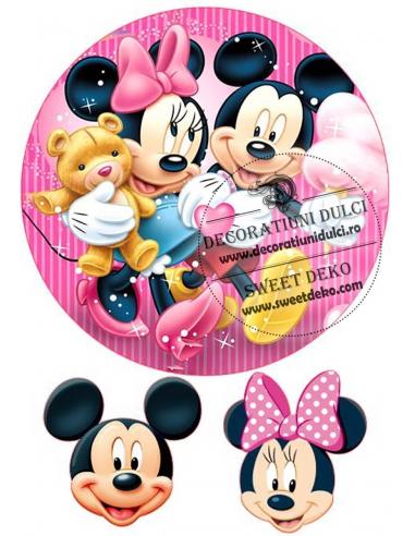 Imagine comestibila Mickey si Minnie,...