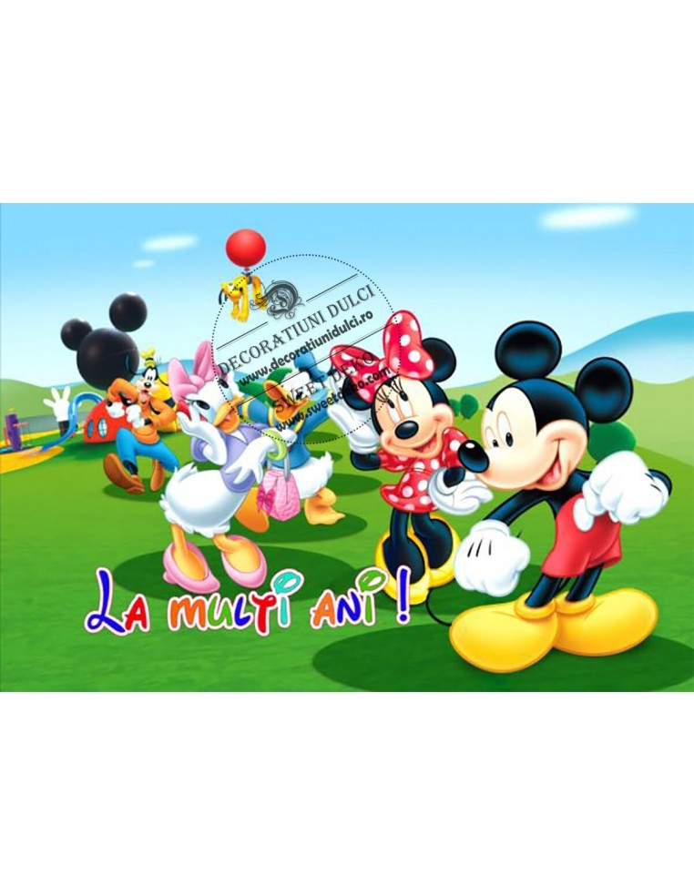 Imagine comestibila Clubul lui Mickey...