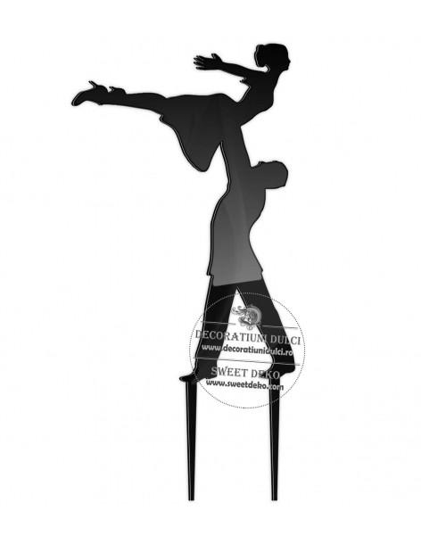 Topper Dansatori plexiglas