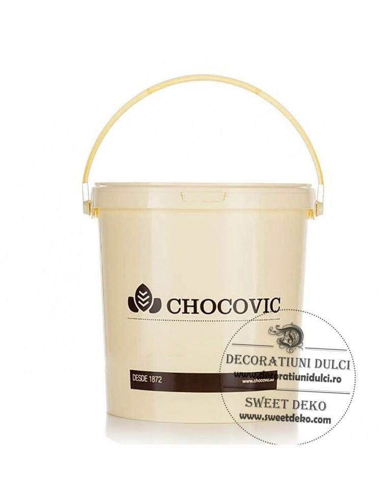 Crema glazurare alba MADE 5kg, Chocovic