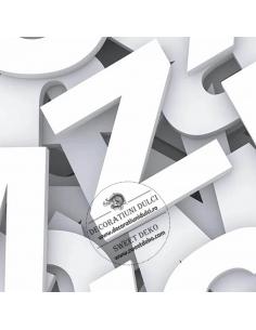 Litere si cifre din polistiren