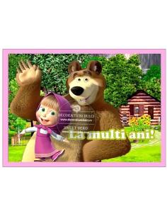 Masha si Ursul iti ureaza...