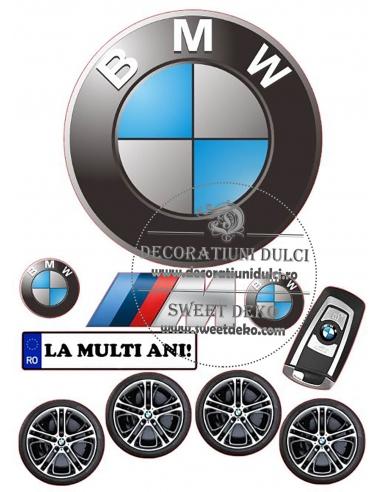 Imagine comestibila BMW