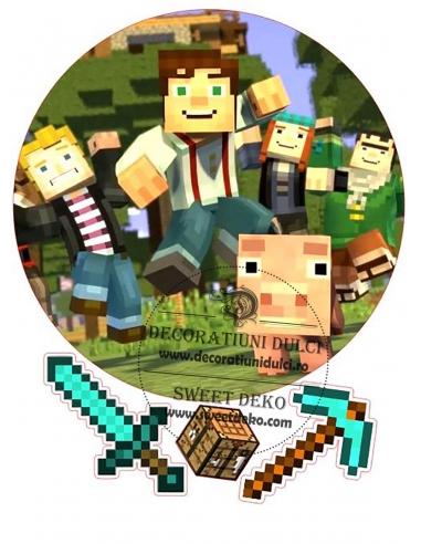 Imagine comestibila Minecraft -1