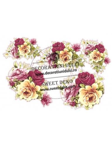 Imagine comestibila Trandafiri EliRose