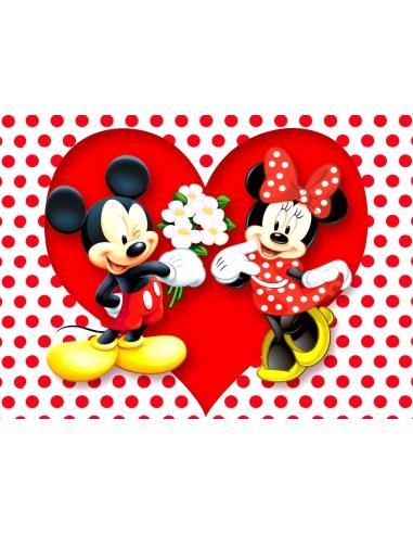 Imagine comestibila Love Mickey si...