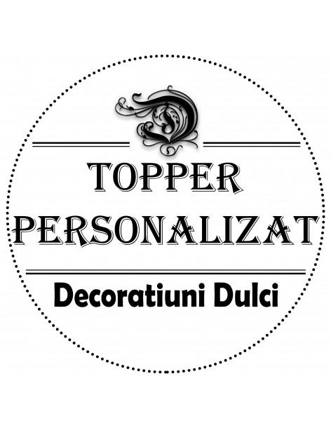 Topper Personalizat plexiglas