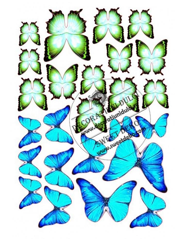 Imagine comestibila fluturi verzi...