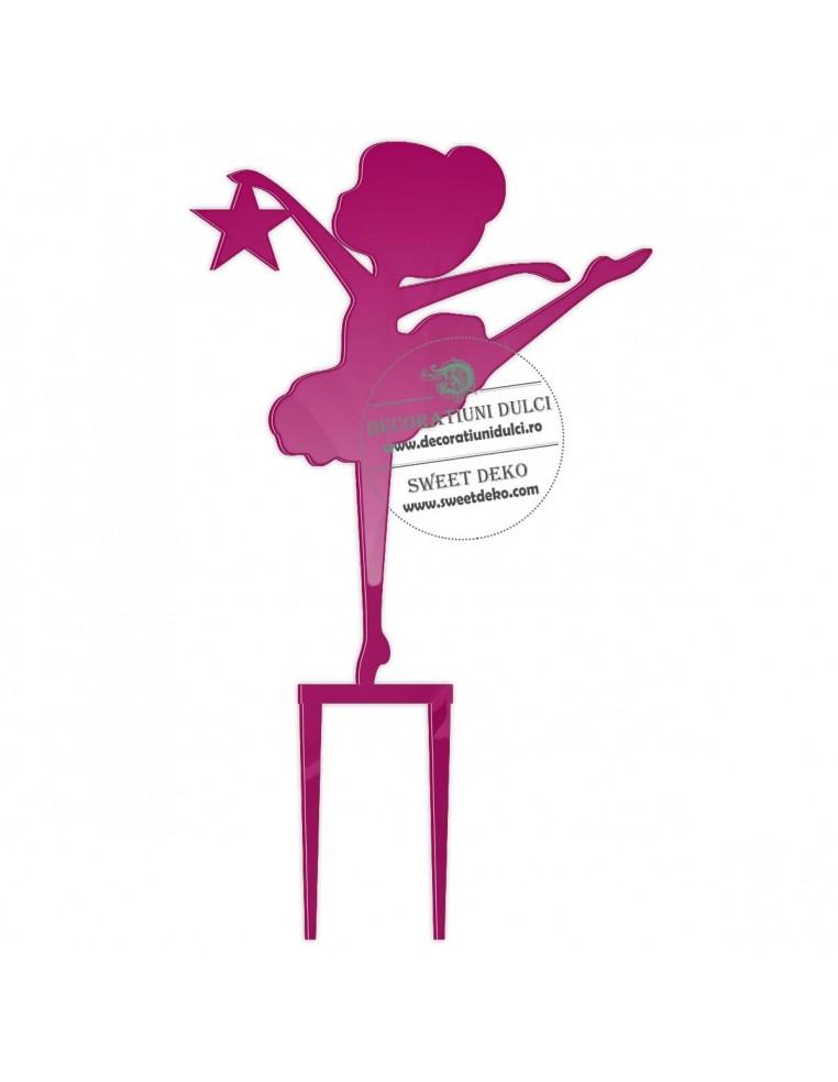 Topper baby balerina, plexiglas