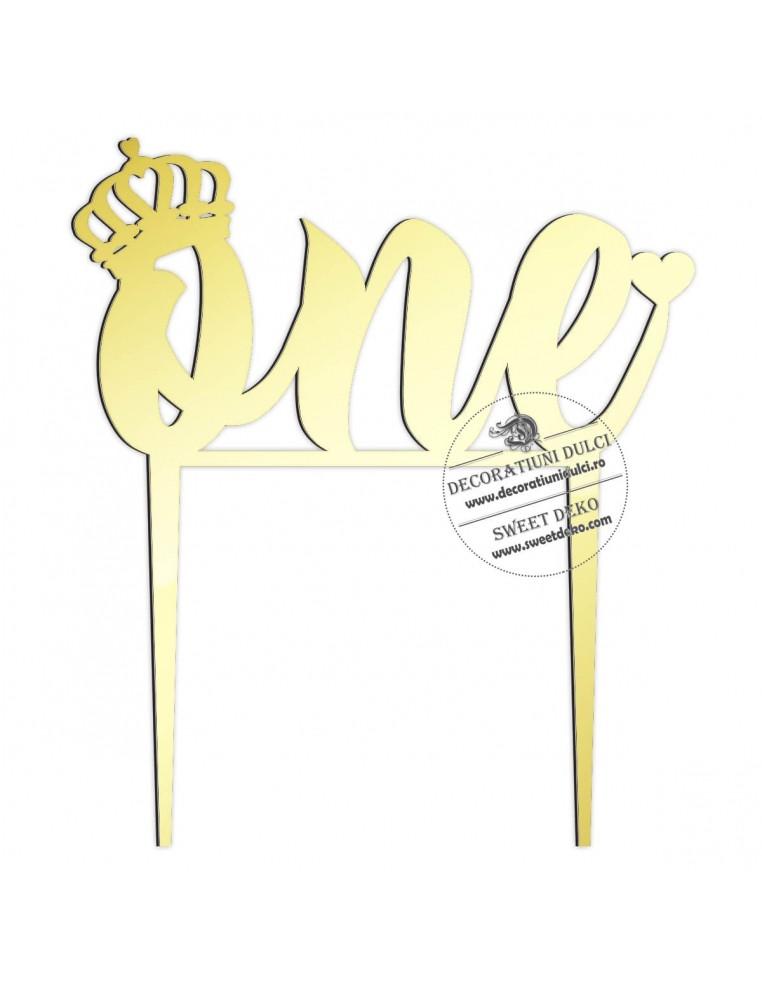 Topper One Crown plexiglas