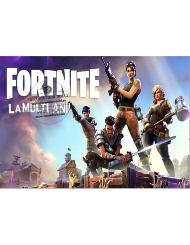 Imagine comestibila Fortnite Battle