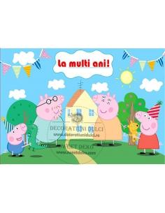 Imagine pentru tort Peppa Pig