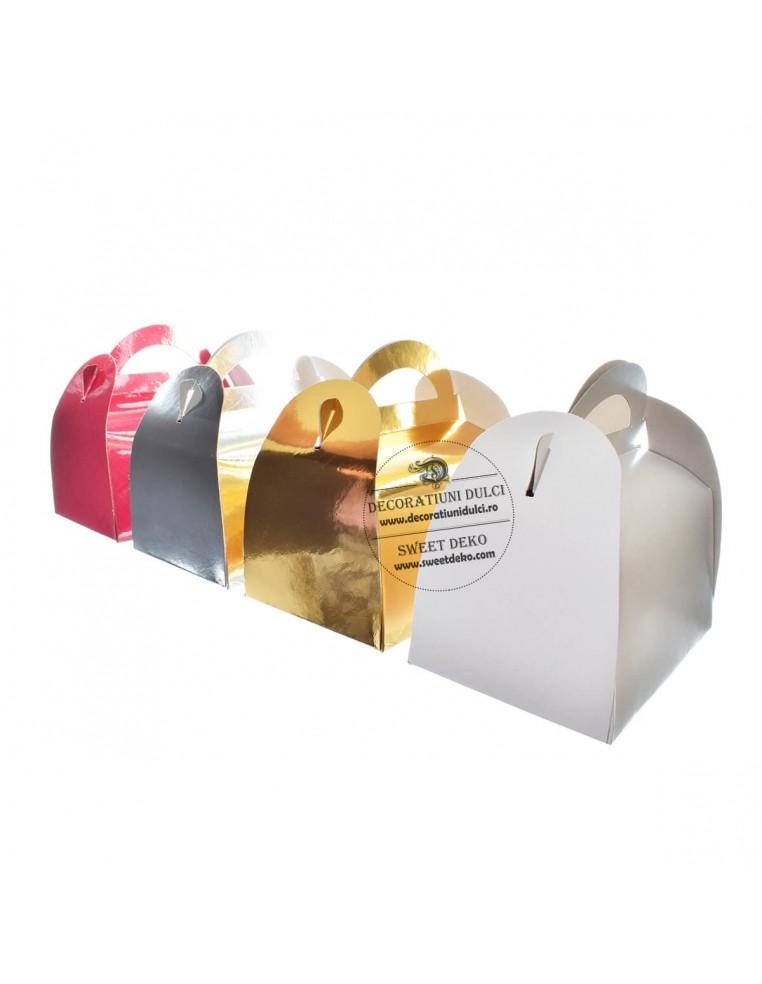 Cutii prajituri 12x18cm (5buc/set)