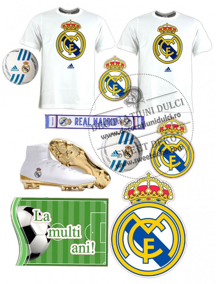 Imagine comestibila Real Madrid