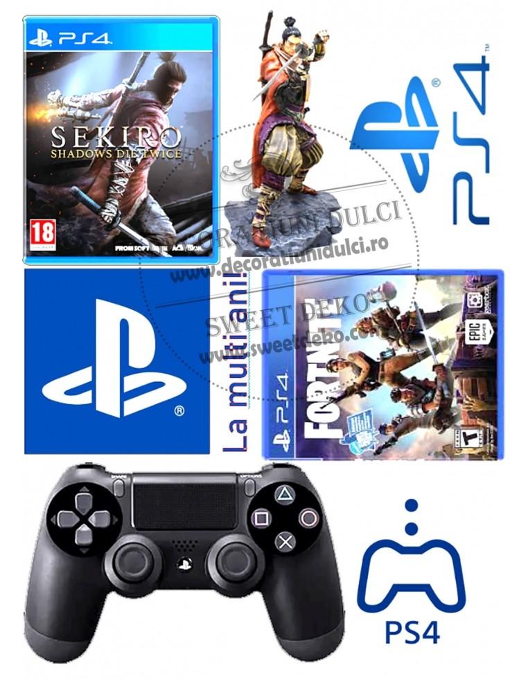 Imagine comestibila PS 4 - Fortnite -...