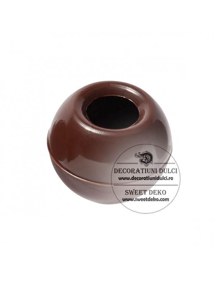 Coji trufe/sfere ciocolata neagra...
