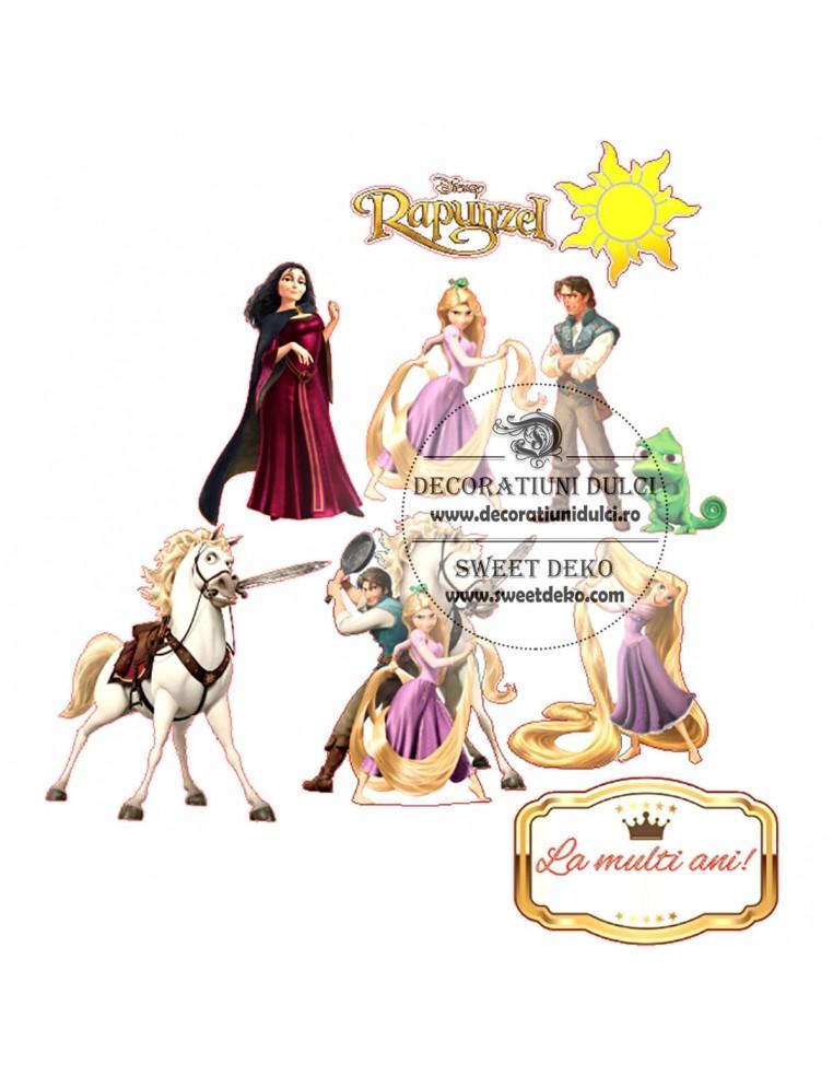 Imagine comestibila Personaje Rapunzel