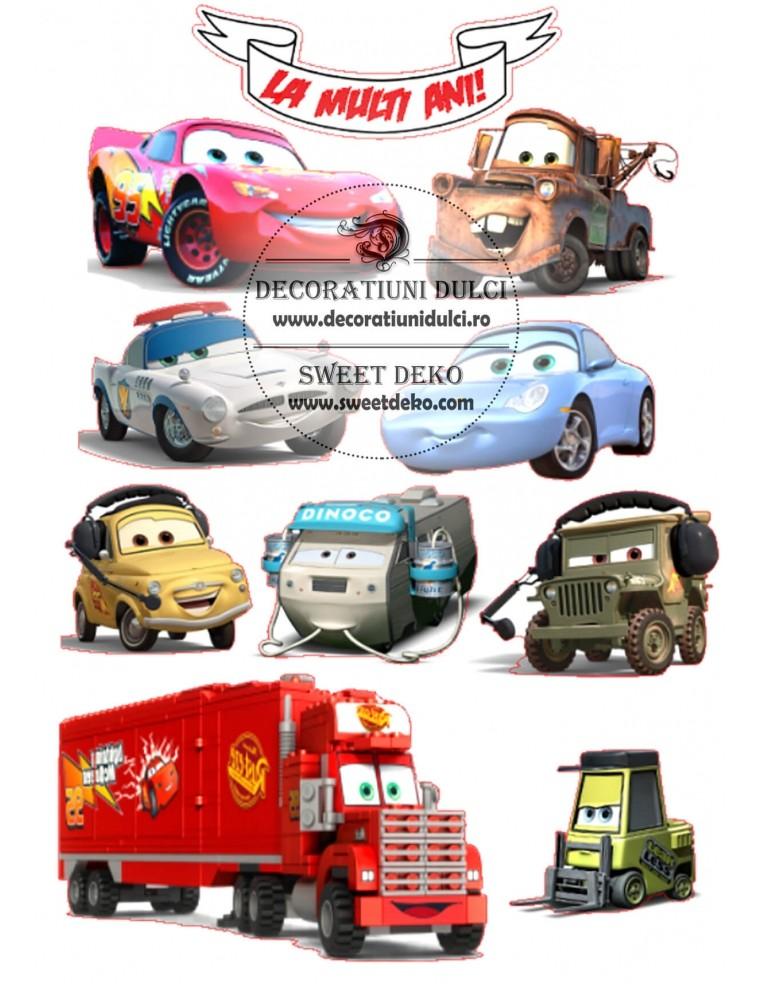 Imagine comestibila Eroi Cars