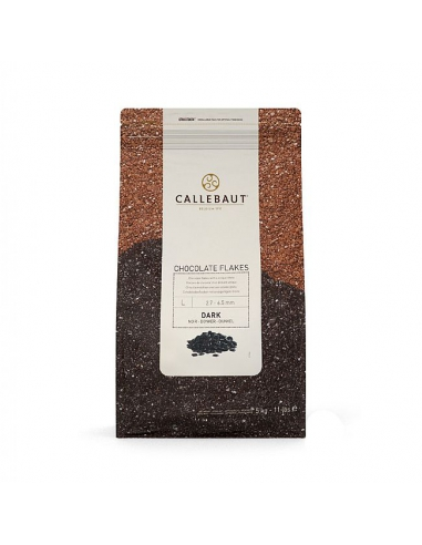 Fulgi ciocolata neagra, Flakes Dark...