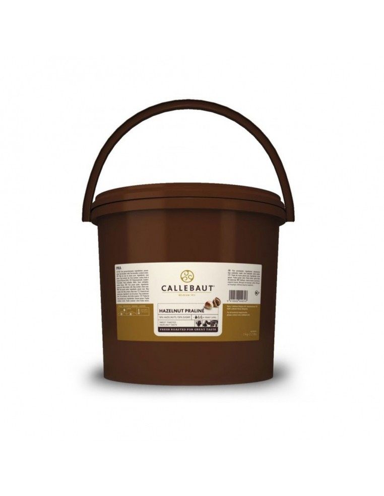 Pasta de alune100%, 5kg, Barry Callebaut