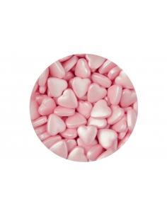 Decor din zahar, Inimioare roz