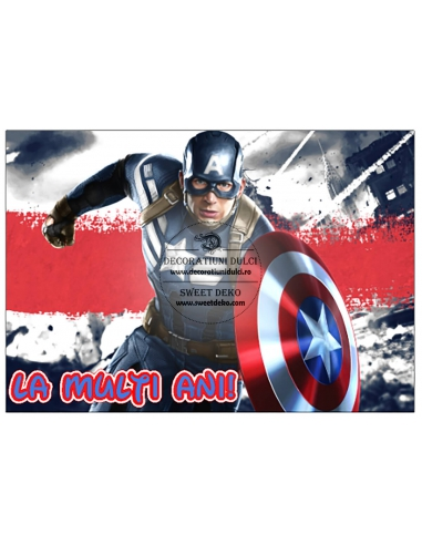Imagine Comestibila Capitan America...