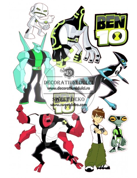 Imagine comestibila Ben 10