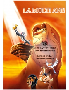 Imagine comestibila Lion King