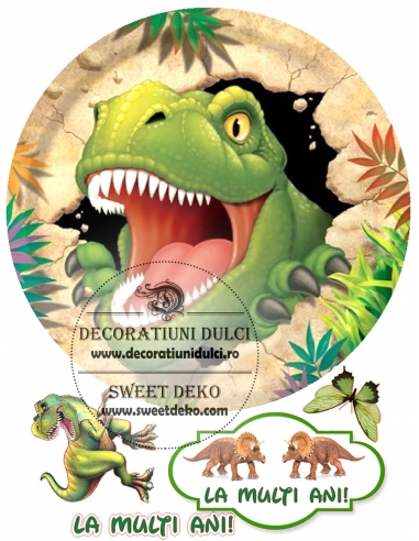 Imagine comestibila T-Rex a evadat
