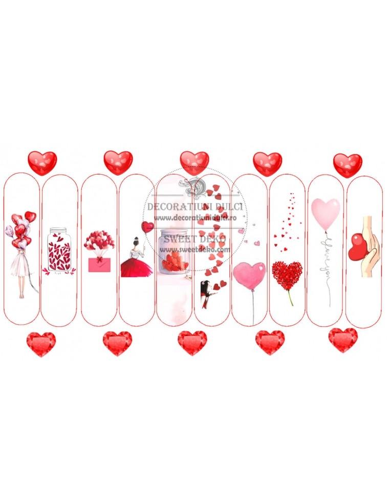 Imagine comestibila - Eclere Love and...