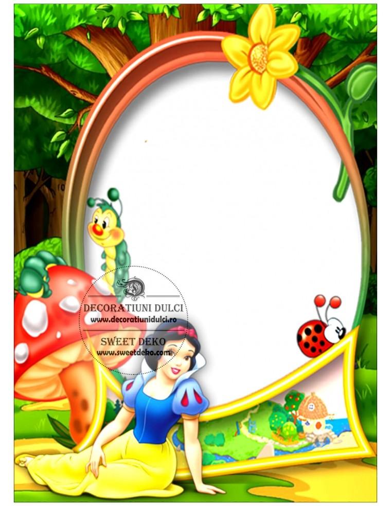Imagine personalizata - Rama Alba ca...