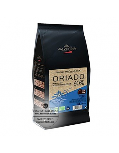 Ciocolata neagra Oriado 60% Valrhona...