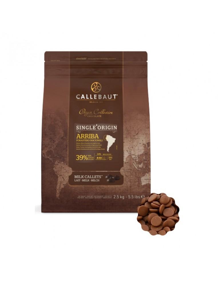 Ciocolata Callebaut cu Lapte ARRIBA...