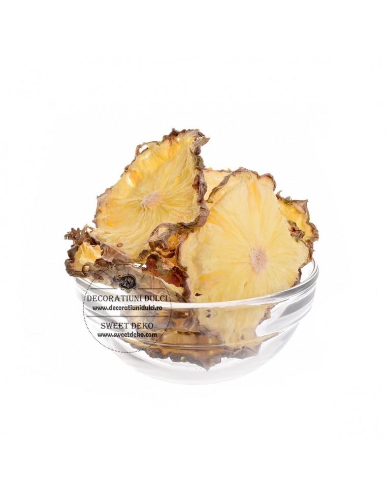 Felii de ananas deshidratate, fructe...