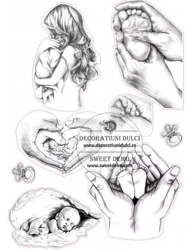 Imagine comestibila Schita de bebelus