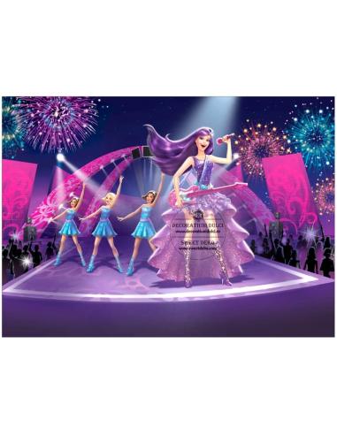 Imagine Comestibila - Barbie Pop Star