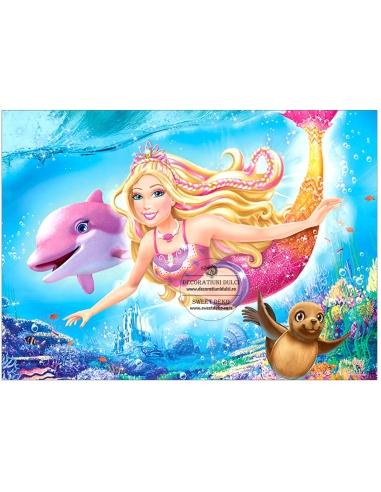 Imagine Comestibila - Barbie Sirena