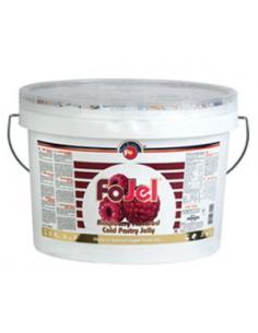 Glazura gel, Zmeura Fo JEL 5kg