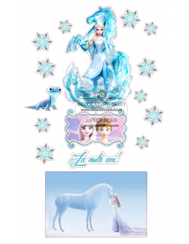Imagine comestibila Queen Elsa,...