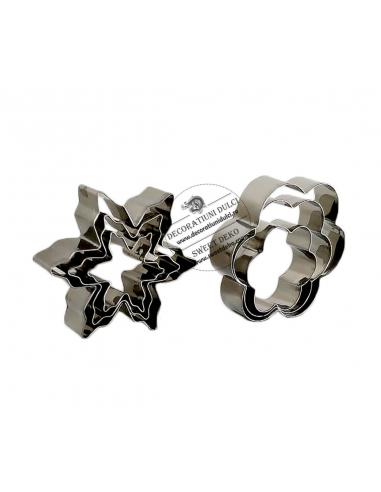 Decupatoare metalice, fulgi si floricele