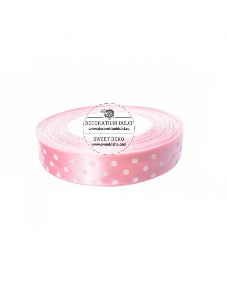 Banda roz cu buline