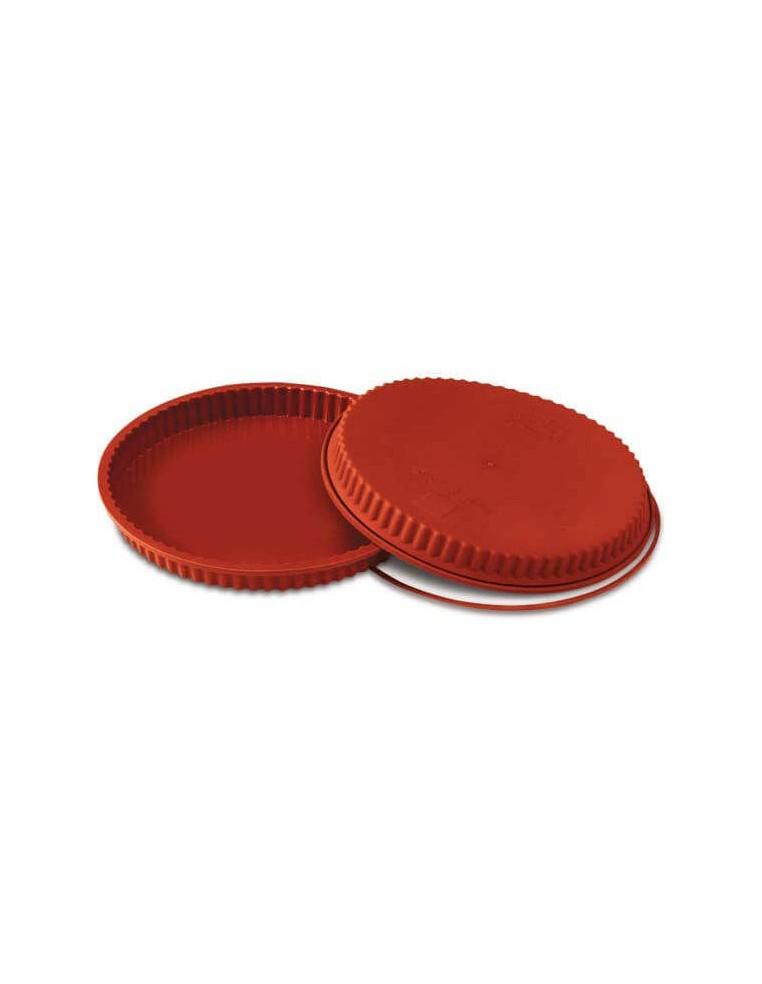Matrita silicon forma tarta - Flan...