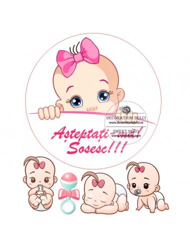 Imagine comestibila Sweet Baby Girl