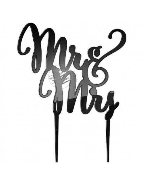 Topper plexi text Mr&Mrs
