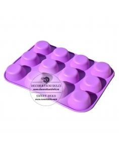 Forma silicon briose, muffins